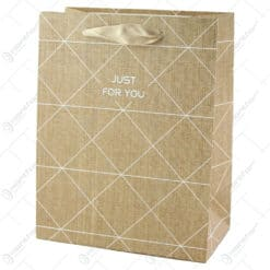 "Punga cadou din hartie 18x23 CM - ""Just for You"""