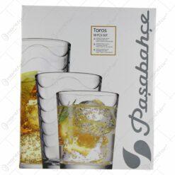 Set 18 pahare din sticla Toros - Pasabahce