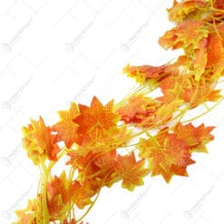 Set 12 Ghirlande cu frunze ruginii decorative 175 CM