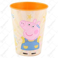 Pahar din plastic Peppa Pig 260 ml