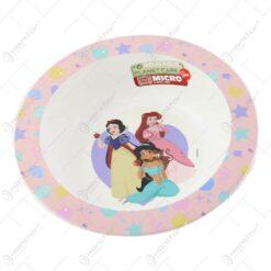 Farfurie adanca din plastic Princess 16 CM