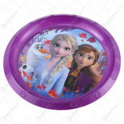 Farfurie intinsa din plastic Frozen 21 CM