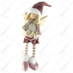 Figurina Craciun Ingeras din textil 60 CM