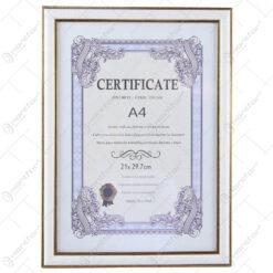 Rama foto documente A4 din plastic - Vertical/Orizontal 24x33 CM