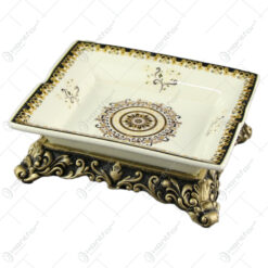 Scrumiera din ceramica 20x17 CM - Nobil Aur