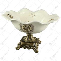 Fructiera din ceramica 31x20 CM - Nobil Aur
