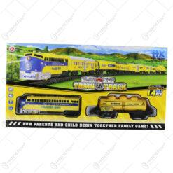 Set trenulet de jucarie cu sunete Train Track