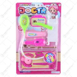 Set accesorii doctor pentru copii din plastic