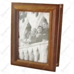 Album foto din lemn tip carte 14x6x19 CM