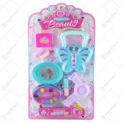 Set accesorii machiaj Paradise Beauty