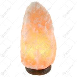 Lampa electrica din cristal de sare Glob 27 CM