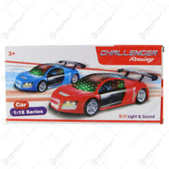 Masina cu lumini si sunete Challenger Racing