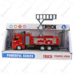 Masina de pompieri cu baterii Powerful Truck
