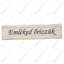 Tablita din lemn cu diferite inscriptii 2x10 CM