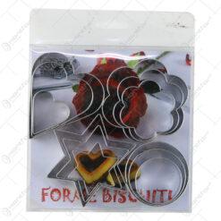 Set 12 forme pentru prajituri din inox