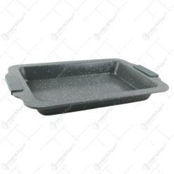Tava pentru cuptor cu manere din silicon Granit 37x24 CM