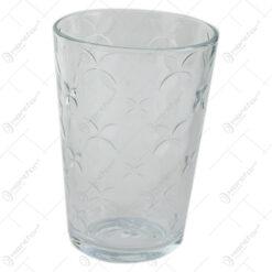 Set 12 pahare din sticla Yonca 7x10 CM