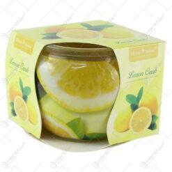 Lumanare parfumata in pahar Lemon Crush