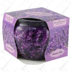 Lumanare parfumata in pahar Lavender Fields