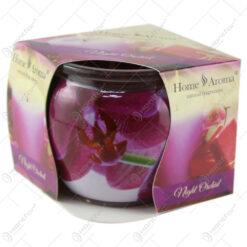 Lumanare parfumata in pahar Night Orchid
