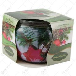 Lumanare parfumata in pahar Christmas Decoration