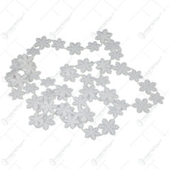 Ghirlanda cu fulgi de zapada din plastic 180 CM